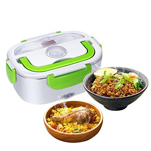 GHB Boîte Chauffante Lunch Box Chauffante Électrique 220V Boîte Alimentaires Boîte Repas en...