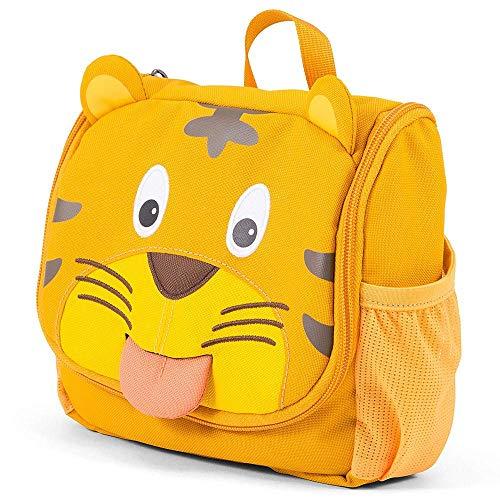 Affenzahn Kulturtasche Timmy Tiger für Kinder  - Gelb