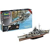 Revell Tripitz Acorazado alemán Tirpitz, Platinum Edition, Limited Editionkit Modello, Escala 1:350 (5160) (05160), 71,7 cm de Largo