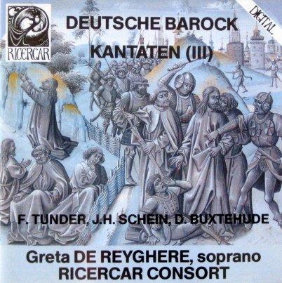 Deutsche Barock Kantaten, Vol. 3