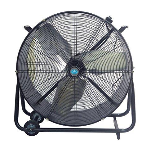 Ventilateur brasseur d'air industriel à gros débit diamètre 75...