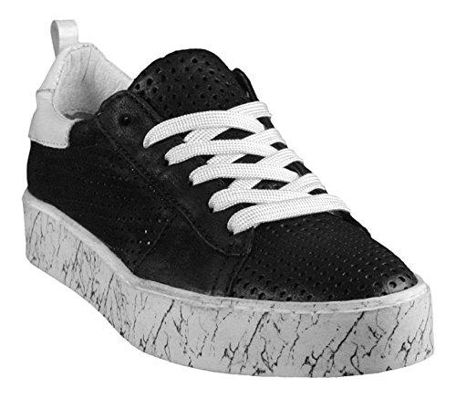 Mjus 721102-0101-0001, Sneaker donna nero nero, nero (nero), 36 EU