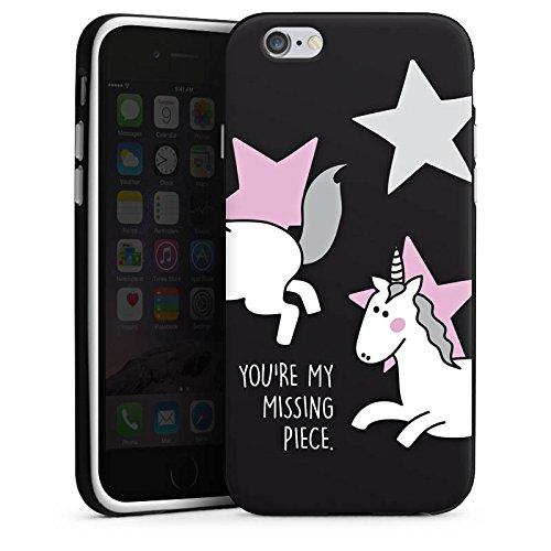 Apple iPhone X Silikon Hülle Case Schutzhülle Freundschaft Geschenk Valentine s Silikon Case schwarz / weiß