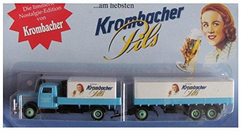 Preisvergleich Produktbild Krombacher Nr.18 - Krombacher Pils - MAN Büssing NAG 500 - Hängerzug Oldie