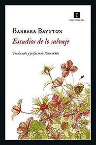 Estudios de lo salvaje par Barbara Baynton