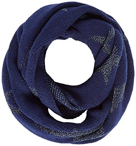 edc by Esprit Accessoires Damen Schal 117CA1Q006, Blau (Navy 400), One Size
