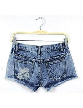 Donna Sexy Corto Jeans Longra,