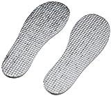 Playshoes Kinder Thermo, Größe 20/21-34/35, zuschneidbar, für warme Füße und EIN angenehmens Tragegefühl Einlegesohlen, Silber (original 900), Cut-to-size 100. Grams