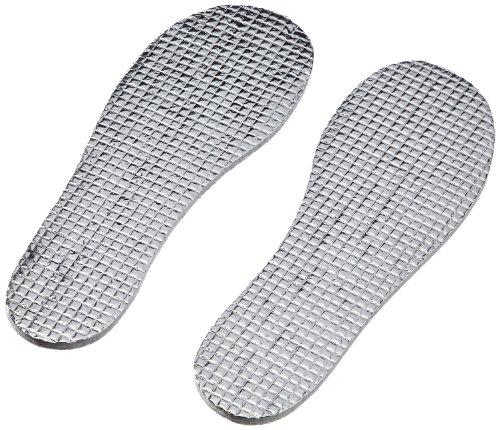Playshoes Kinder Thermo, Größe 20/21-34/35, zuschneidbar, für warme Füße und EIN angenehmens Tragegefühl Einlegesohlen Silber (original 900) Cut-to-size 100. Grams