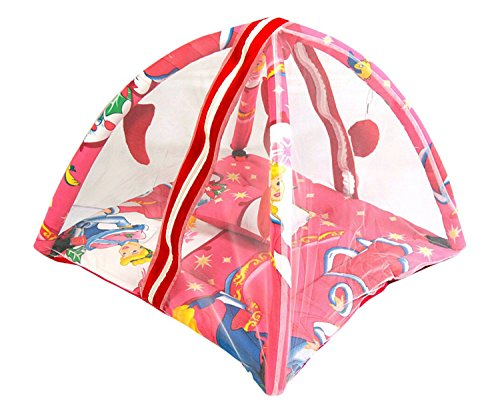 Feathers-Nature's Touch Cotton PRINCESS Mosquito net cum play gym(0-8 Months)