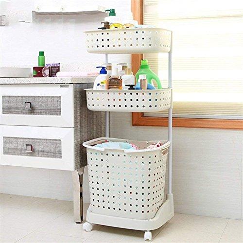 VIOY Regal Organizer Bins Regal Teiler Für Schränke Lagerregal Aufbewahrungsbox Badezimmer Regale Wc Regal Kunststoff Kleidung Körbe Mit Rädern Beweglich