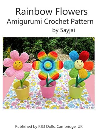 Cute Amigurumi Flowers Free Crochet Patterns | 445x334