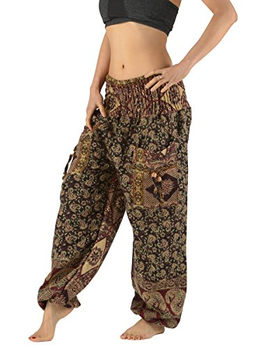 high-crotch-indian-wool-harem-pants-many-designs-ethnic-woolen-trousers-black-small-paisley
