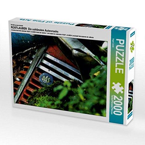 Ein Motiv aus dem Kalender ROSTLAUBEN  Die schönsten Autowracks 2000 Teile Puzzle quer