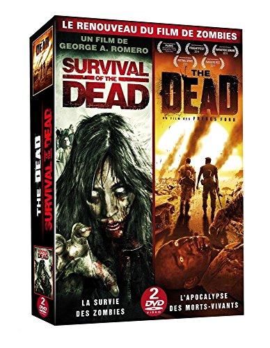 Coffret le renouveau du film de zombies : the dead ; survival of the dead [FR Import]