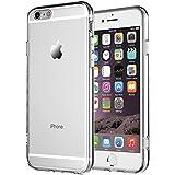 iPhone 6 funda, iPhone 6S funda, NNIUK iPhone 6 Caso la cubierta del TPU especial del color del gradiente ultra delgada clara flexible protectora para el iPhone de 6/6S