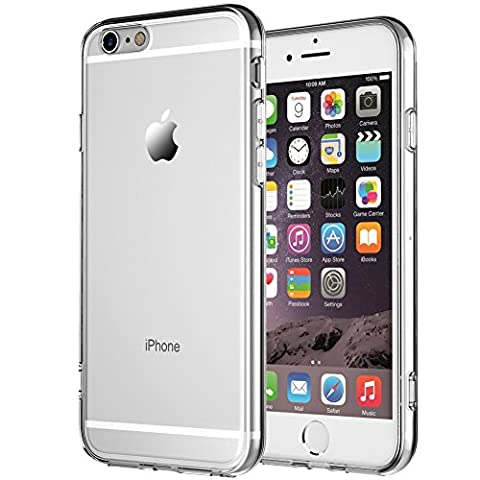 iPhone 6 Case, iPhone 6s Case,NNIUK iPhone 6 Case Crystal Clear Soft TPU Rubber Skin [Anti-Scratch] Ultra Thin Drop Protective Cover for iPhone 6/6s, 4.7