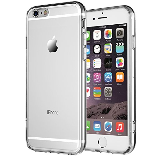 Galleria fotografica Cover iPhone 6 Plus,Cover iPhone 6s Plus,iPhone NNIUK 6 Plus Custodia morbida di TPU della calotta di protezione [ultra sottile] Clear Gel caso per iPhone 6 Plus / 6s Plus, 5,5 inch