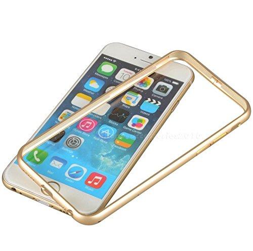 """Invero® élégant, mince, affaire Frame en alliage d'aluminium métal pare-chocs pour Apple Iphone 6 4.7 """" (Grey/Gris) Grey/Gris"""