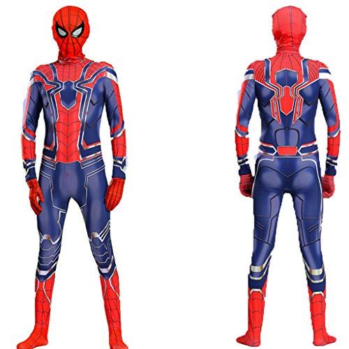 YUNMO Iron Spider Spiderman Classic Kinderkostüm für Kinderkleidung Outfit Halloween (größe : 110)