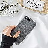 DREAMBAB Coque Etui en Tissu en Coton pour Iphone X XR XS Max 8 7 Plus, Etuis De...