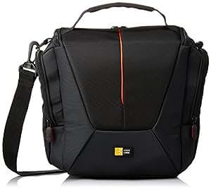 Case Logic DCB307K Housse en nylon pour Appareil Photo Réflex avec 2 objectifs Noir
