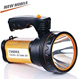 ROMER LED Searchlight Rechargeable Portable Handheld Spotlight Camping Lantern, Power Bank High-power Super