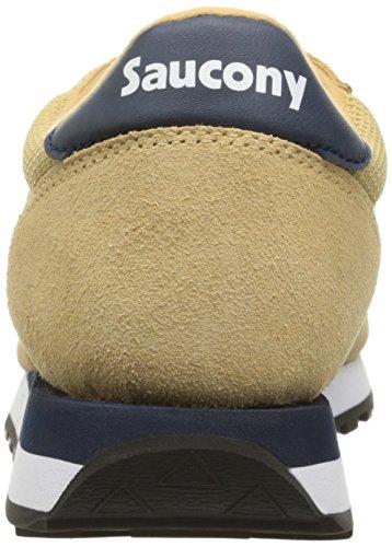 Saucony Jazz Original Ballistic uomo, pelle scamosciata, sneaker bassa Tan/Navy