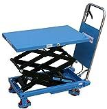 HanseLifter SPS150 mobiler Hubtisch mit 150kg Tragfähigkeit und Doppelschere