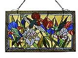 'Fine Art Beleuchtung Tiffany Fenster Panel, 28von 43cm, 363Glas Schnitte