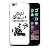 Stuff4 Coque de Coque pour Apple iPhone 6 / Land Loot Build Design/FN Battle Royale Collection