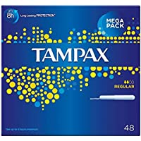 Tampax Tampons Applikator Regular (48) - Packung mit 6 preisvergleich bei billige-tabletten.eu