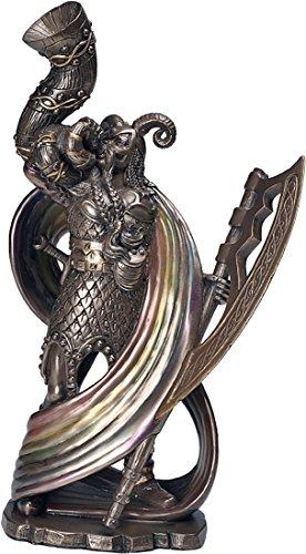 Heimdall by Derek W. Frost Figur Sammelfigur bronziert nordischer Gott