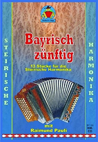 Lieder unserer Heimat für Steirische Harmonika mit CD Noten Griffschrift