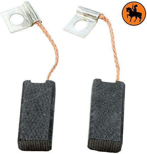 Conjunto de dos escobillas de carbón Buildalot: con cables, resortes y clavijas para Bosch GNM 13 . Dimensiones: 6,3x10x21,5mm - 2.4x3.9x8.3''.Entrega: Dentro de los tres días hábiles. Misión encaja en el buzón.Reemplazo:  Se recomienda que reemplace...