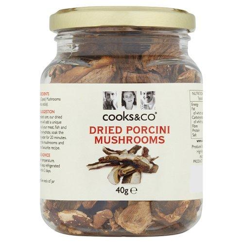 Cooks & Co Dried Porcini Mushrooms, 40g Test