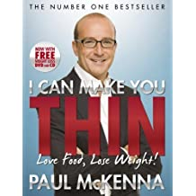 I Can Make You Thin - Love Food, Lose Weight: New Full Colour Edition (includes free DVD and CD) by Paul McKenna (2010-01-02)