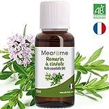 Huile essentielle de romarin à cinéole BIO- 30 ml - certifiée HEBBD HECT Pures et...