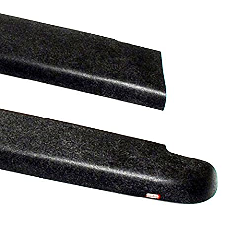 Wade 72-40181 Truck Bed Rail Caps Black Smooth Finish without