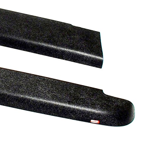 Wade 72-40151 Truck Bed Rail Caps Black Smooth Finish without Stake Holes for 1999-2007 Silverado & Sierra 1500 2500 (Classic only) with 6.5ft bed (Set of 2) by Westin