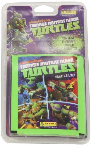 Tortugas Ninja - Blíster de 10 sobres con cromos (Panini 002516BLIE)