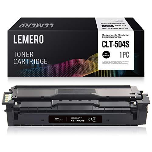 LEMERO Compatibile Samsung CLT-P504C K504S Cartucce di Toner per Samsung CLX-4170 CLX-4195FN CLX-4195FW CLP-415NW CLP-470 CLP-475,Nero