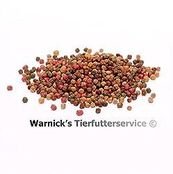 Warnicks Tierfutterservice Koifutter 6mm Spezialfutter 5-Sorten-Mix 15Liter