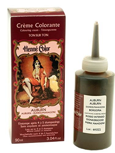 Henné Color Auburn (Mahagoni - dunkel) Henna-Tönungscreme