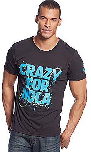 Adidas Mens verrückt für Nola T-shirt Schwarz Klein - Verrückt Mens T-shirt