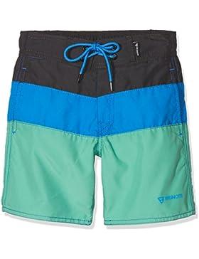 Brunotti Bañador Boys Pantalones Cortos Catamarán Aran Jr, niño, Catamaran JR Boys Shorts, Breeze Green