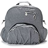 Gitta Friend Diaper Bag Baby Travel Designer Insulated Waterproof Carry All Diaper Backpack 5 Piece Includes Changing Mat - All In One Lightweight Machine Washable Tote W/ Stroller Strips