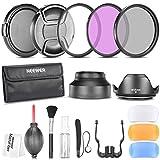 Neewer 58mm Professionel Kit d'Accessoire pour Canon EOS 700D 650D 600D 550D 500D...