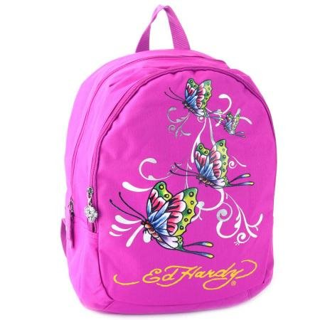 Ed Hardy Misha Tattoo Printed Kids School Bag Backpack  available at amazon for Rs.2974