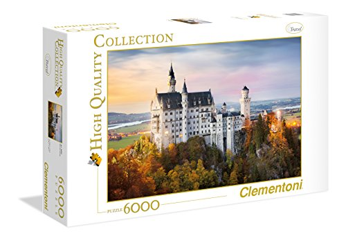 Clementoni - 36522 - high quality collection puzzle - neuschwanstein - 6000 pezzi